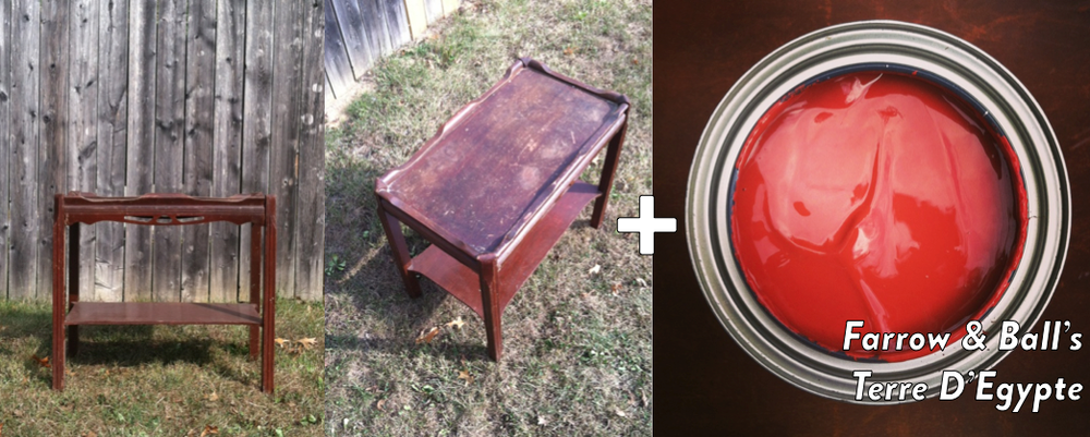 SSDC- Little Projects | Vintage End Tables Made New