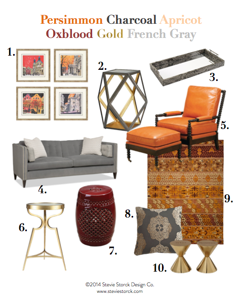 Stevie Storck Design Co. - Fall Color Scheme 10 Picks
