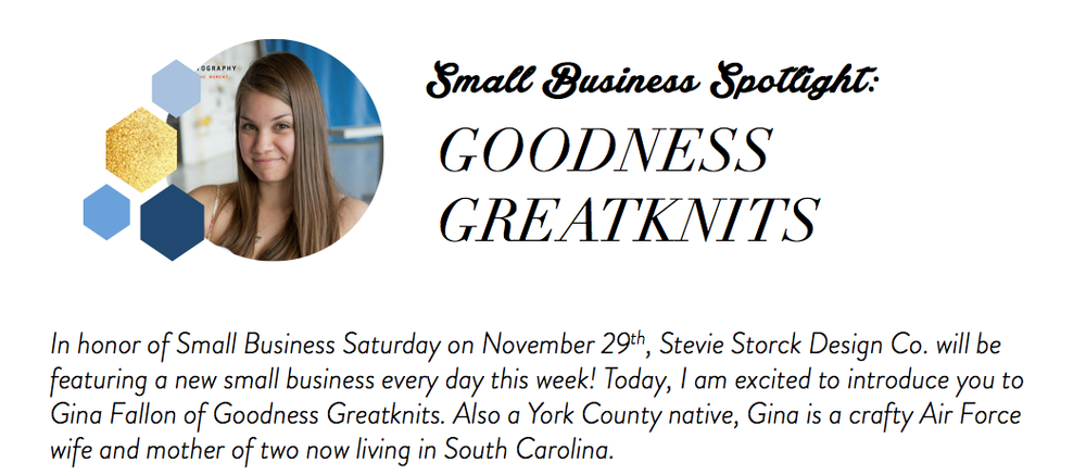 Stevie Storck Design Co. - Goodness Greatknits