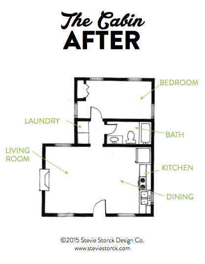 The Cabin Floor Plan After