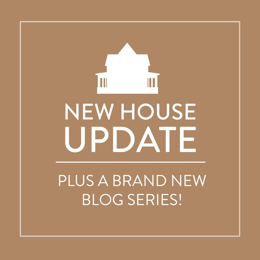 New House Update & A New Series! Stevie Storck Design Co.