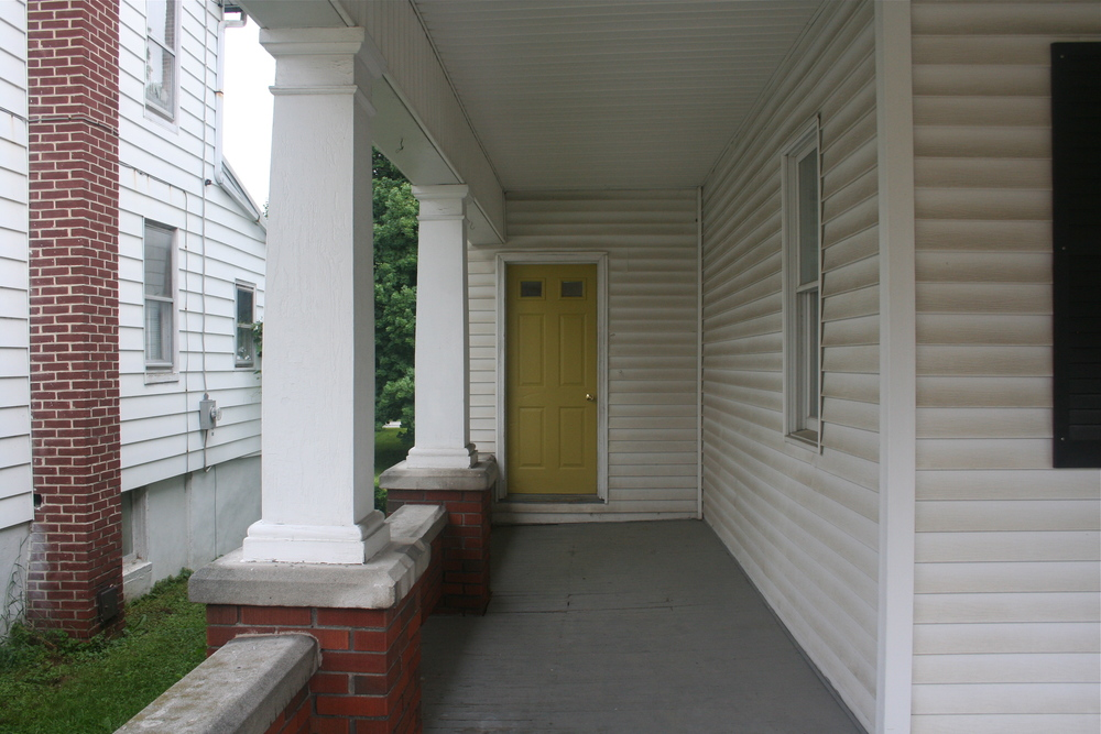 Front Door SW6042 Antiquity Sample Paint - Stevie Storck Design Co.