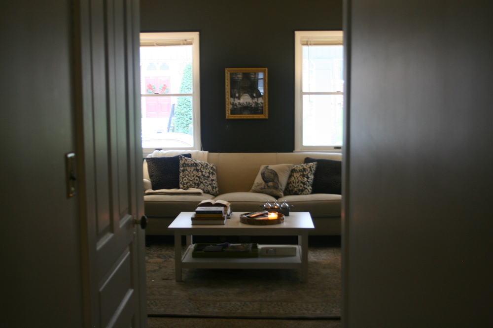 Living Room (Progress) - Stevie Storck Design Co.