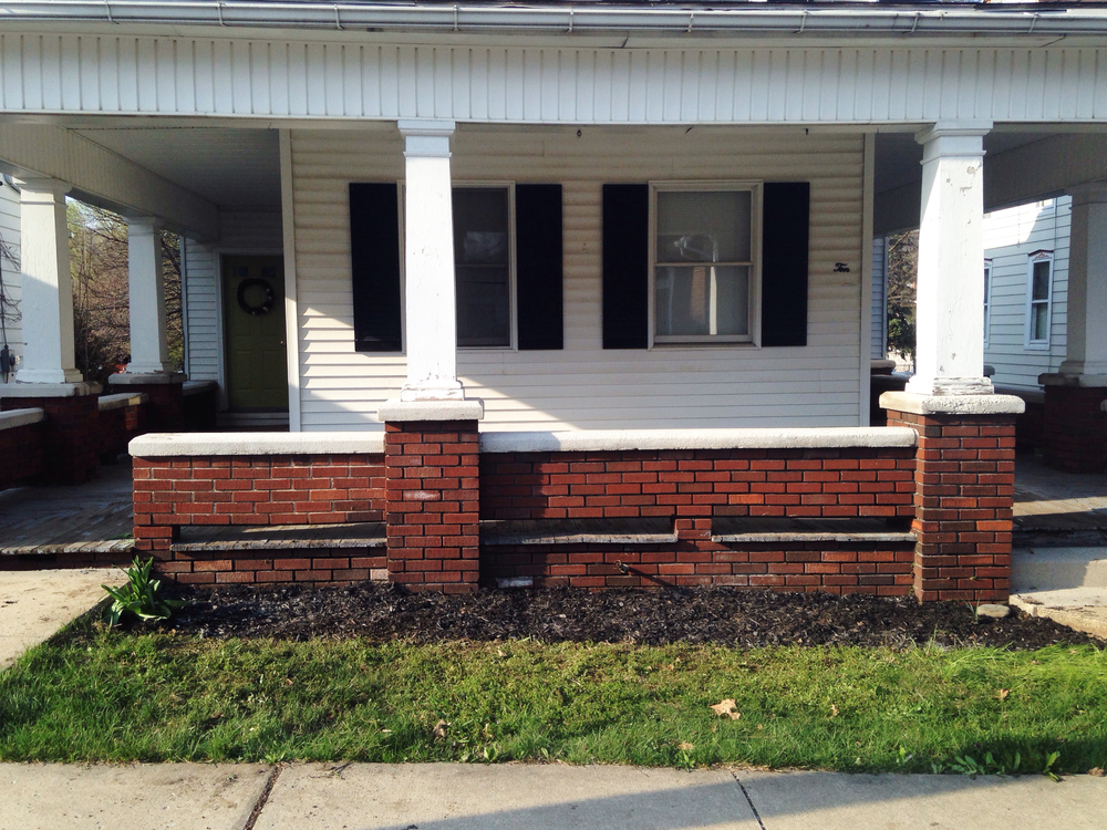 Front Garden Before - Stevie Storck Design Co.