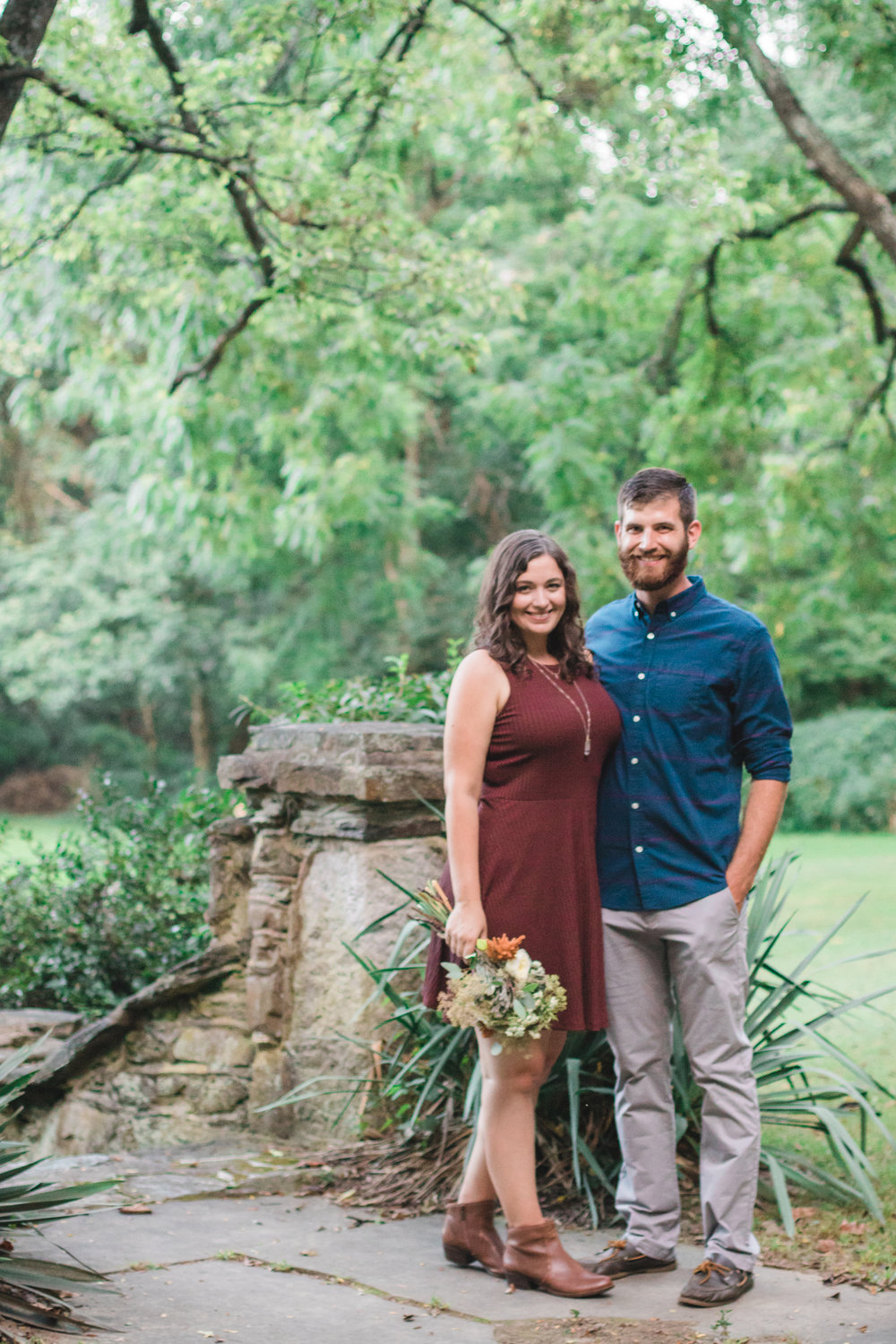 Three Years | Fall Couple Anniversary Photos by Savannah Smith Photography