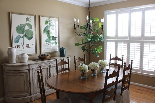 During our consultation  we talked through the layout and ways to update  the decor while keeping their existing dining set  The client had recently. Sterling Project   Dining Room   Stevie Storck Design Co