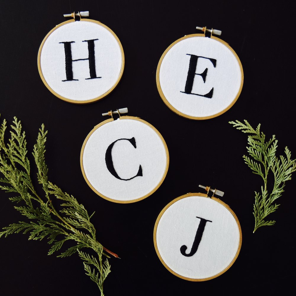 Diy monogram embroidery hoop free pattern stevie storck design co free pattern pdf easy embroidery pattern for beginners this monogram hoop only requires two dt1010fo