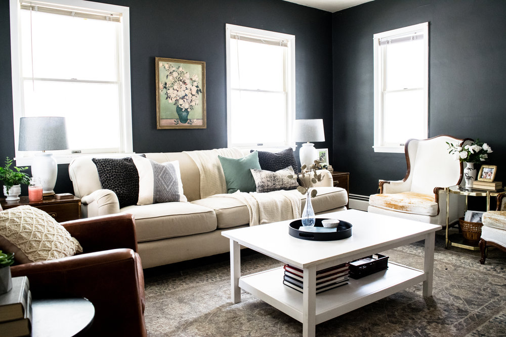 Modern Traditional Country Living Room Inspiration | English Arm Sofa,  Charles Of London, French Part 90