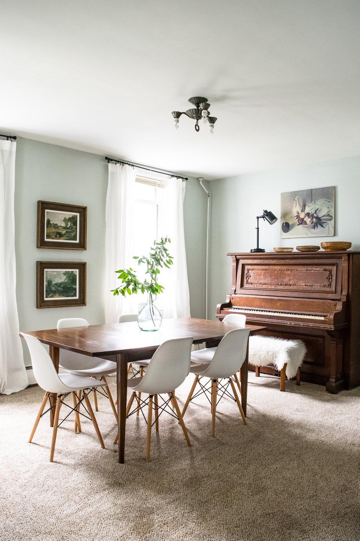 Modern Design Dining Room: Antique Meets Midcentury — Stevie