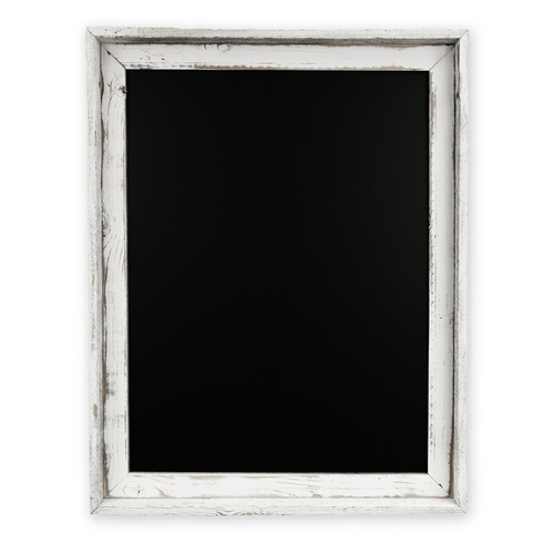 rfcb w antique white rustic framed chalkboard