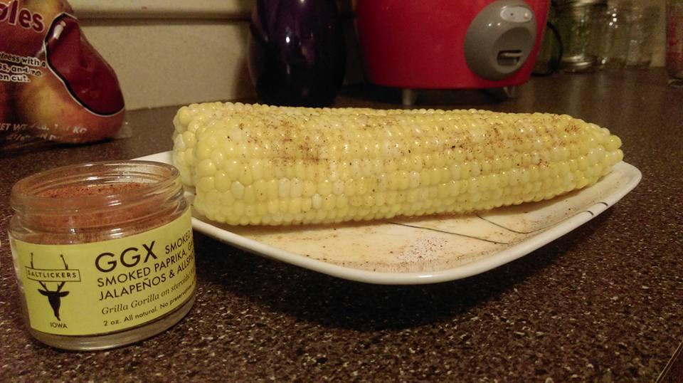 Eric's sweet corn with GGX