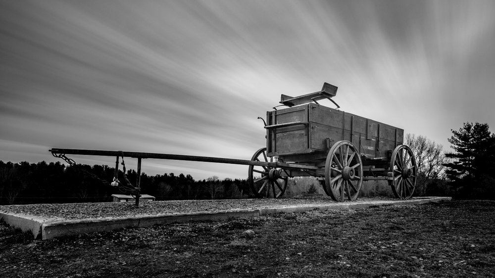 The Wagon 3.31.2018 ISO 100 - f18 - 180 sec LEE Big Stopper