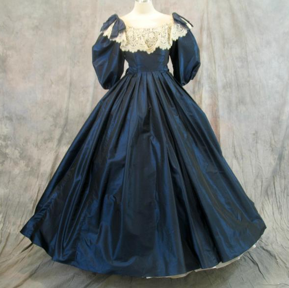 Civil War Ball Gowns & Southern