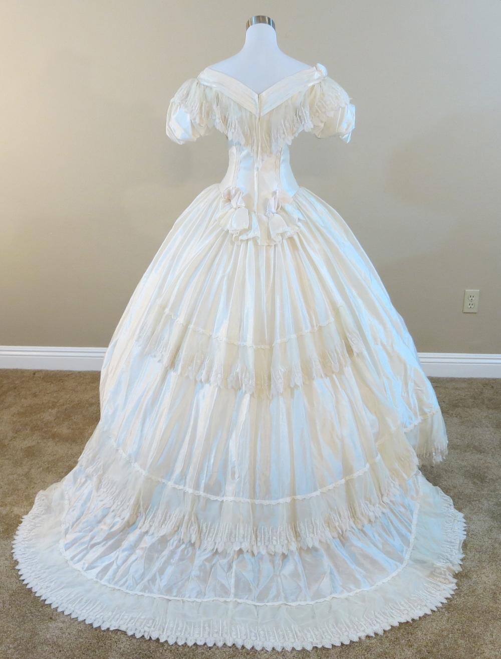 Civil war wedding dresses wedding ideas for Civil war style wedding dresses