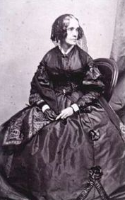 First Lady Jane Pierce, wife of President Franklin Pierce