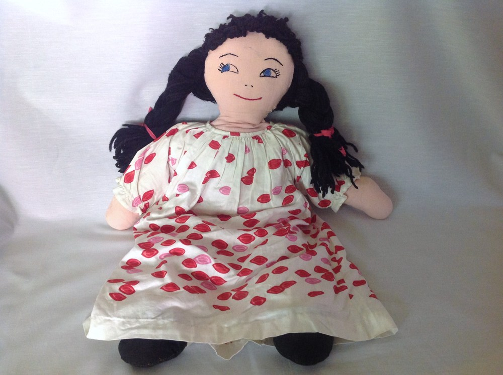 The rag doll Grandma Ethel made for me