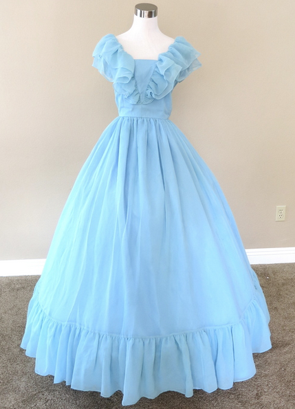 Baby Blue Gowns