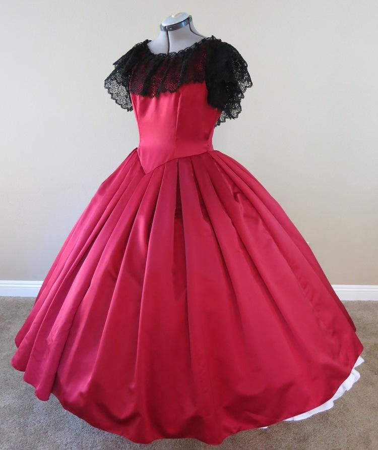 Red Ball Gown (waist - 33\