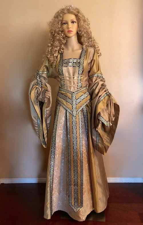 Celtic Princess (Small to XXL) — Civil War Ball Gowns & Costume