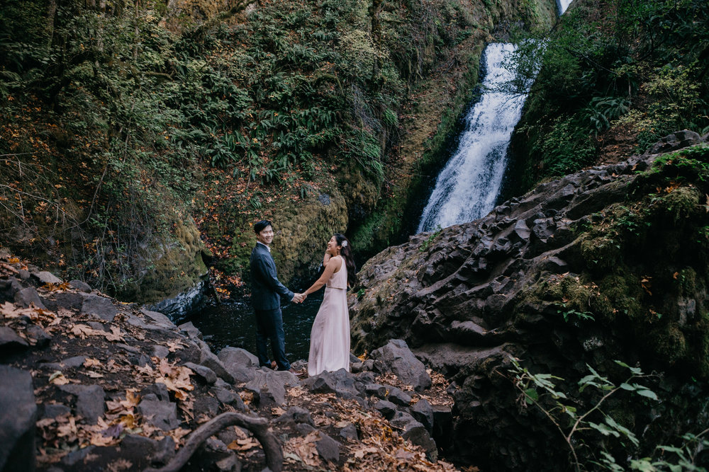 Vicky & Ghi - Bridal Veil Falls