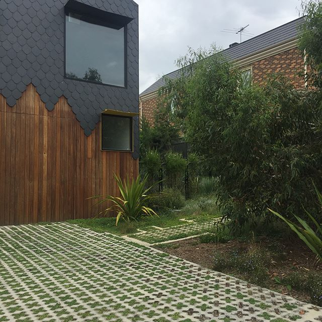 Great to check out a job in Kew today from a few years ago. Garden has just exploded! It's all in the planning and preparation. Great design by @bushprojects. #landscapeconstruction #lucidalandscapes