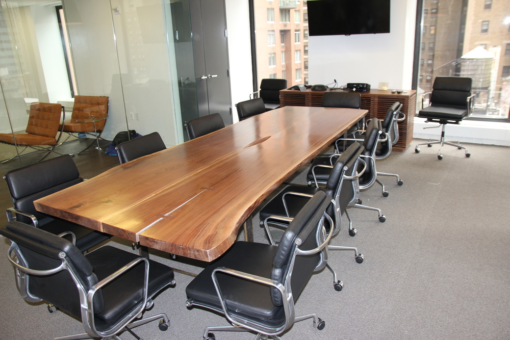 Verino Walnut Conference Table