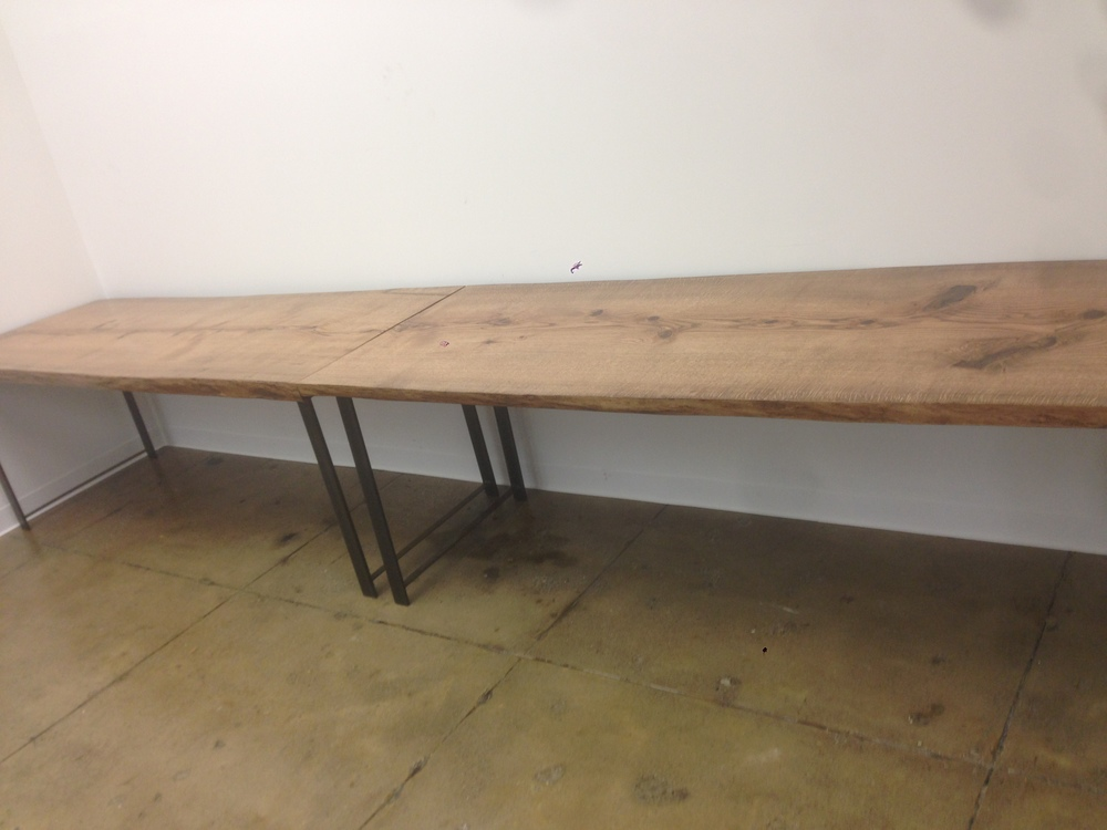Five Hurricane Sandy Oak Tables