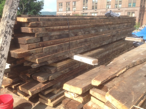 ... reclaimed wood ... - Reclaimed Wood From NYC's Lost Buildings €� NYCitySlab- Custom