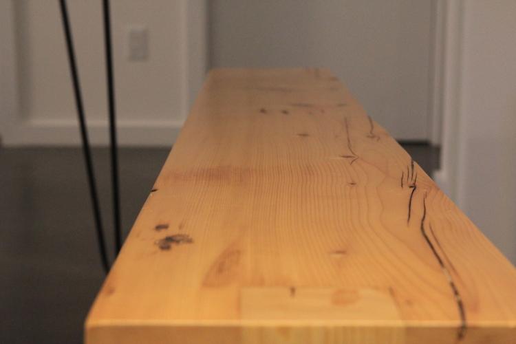 ... reclaimed wood slab ... - Reclaimed Wood From NYC's Lost Buildings €� NYCitySlab- Custom