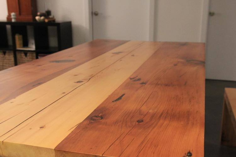 ... reclaimed wood slab - Reclaimed Wood From NYC's Lost Buildings €� NYCitySlab- Custom