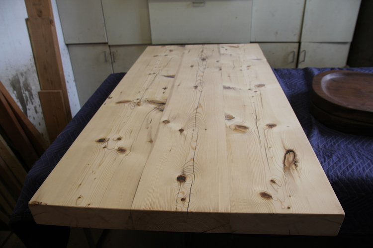 Reclaimed Wood From NYCs Lost Buildings NYCitySlab Custom - Reclaimed wood table nyc