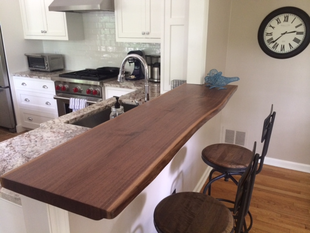 Custom Walnut Counter Top