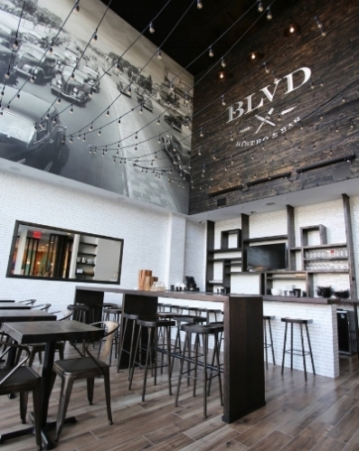 Blvd Bistro and Bar at Wyndham Garden Rego Park