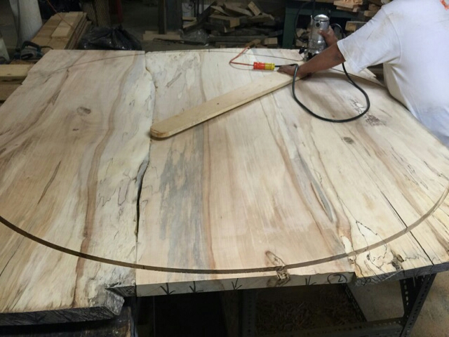Stayed tuned for pictures of the finished table.