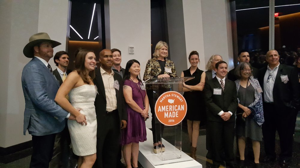 Martha Stewart and American Made 2016 Honorees
