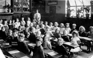 Early 20th century classroom