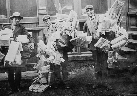 Christmas Rush - 1900s style!