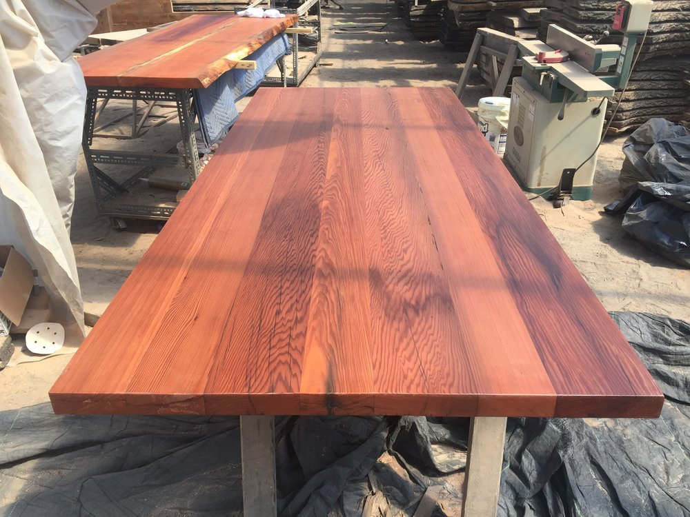 From California To NYC.. The Redwood Is Really Good. U2014 NYCitySlab  Custom  Furniture And Live Edge Slabs