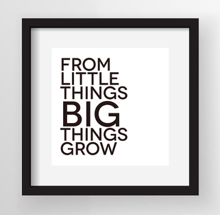 the castle from little things big things grow essay 5 — from little things big things grow in this sequence students will learn about the way poetry and songs lend themselves to talking about rights.