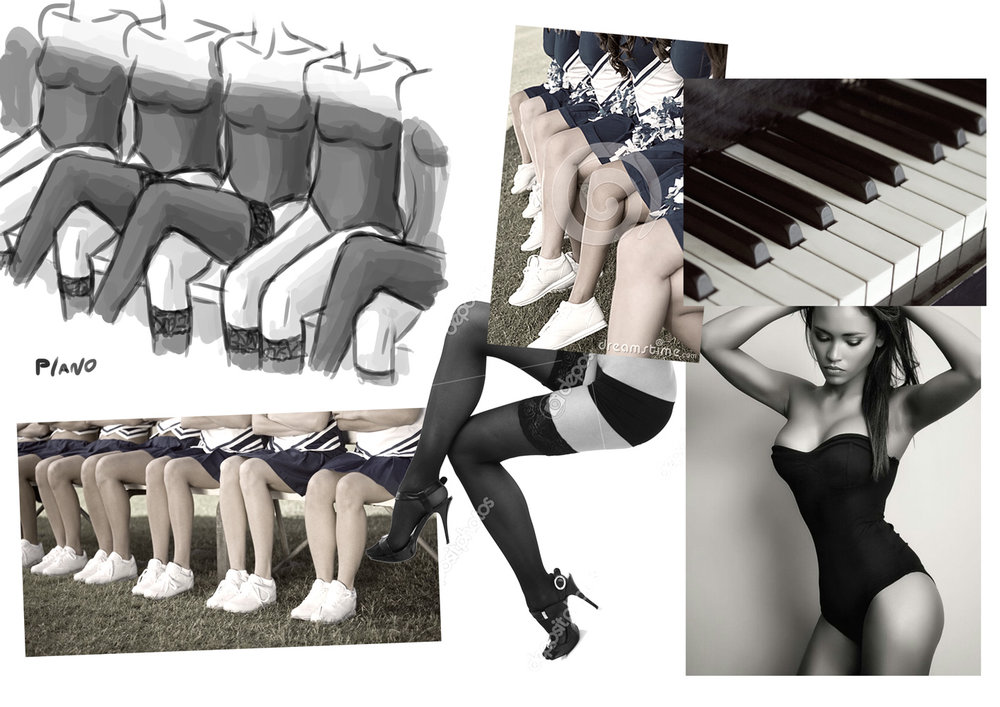 Concept moodboard: Piano