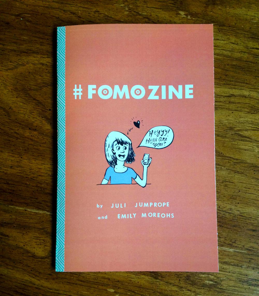 #FOMOZINE , front cover, 2014