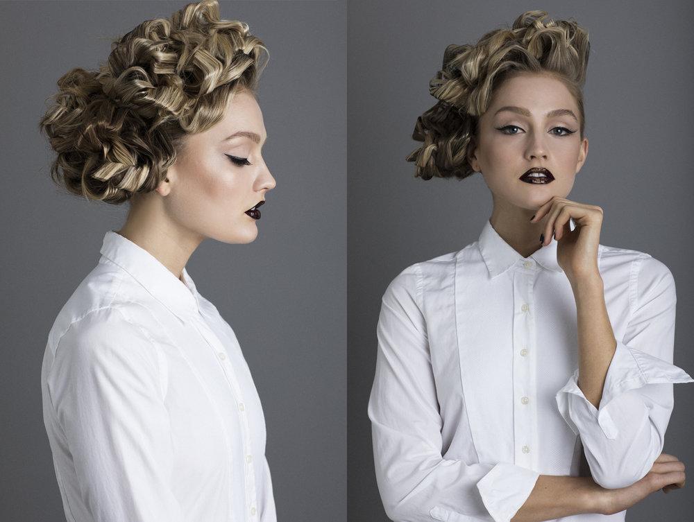 editorial high fashion hair