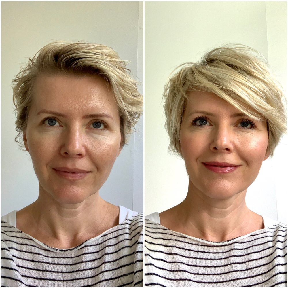 My no make up to a fresh natural look in 2 minutes - the perfect look for Summer when you are running out the door