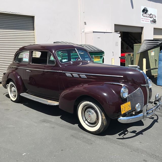 Just finished this 1940 Pontiac, full brake job, some wiring repairs and a general safety inspection.