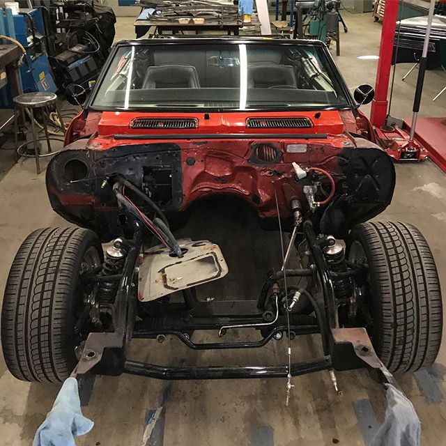 Clean slate on this Camaro build, time to make something worthy of the motor it's soon to receive.