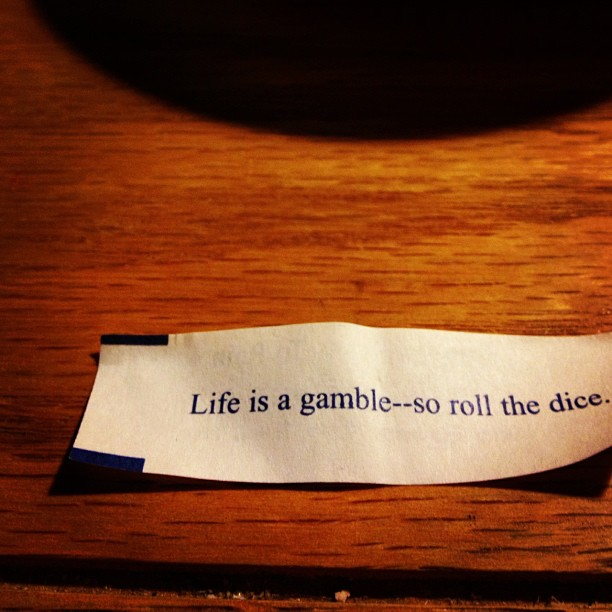 Preach it, fortune cookie.
