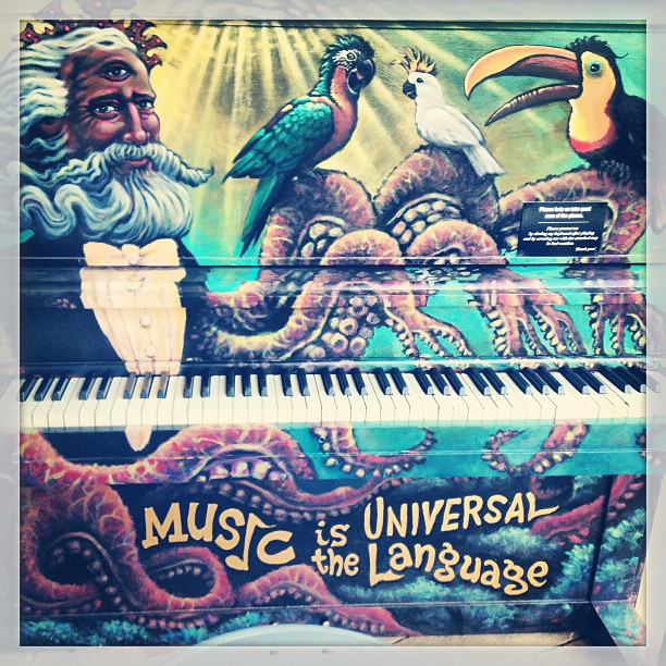 Music is a universal language #piano