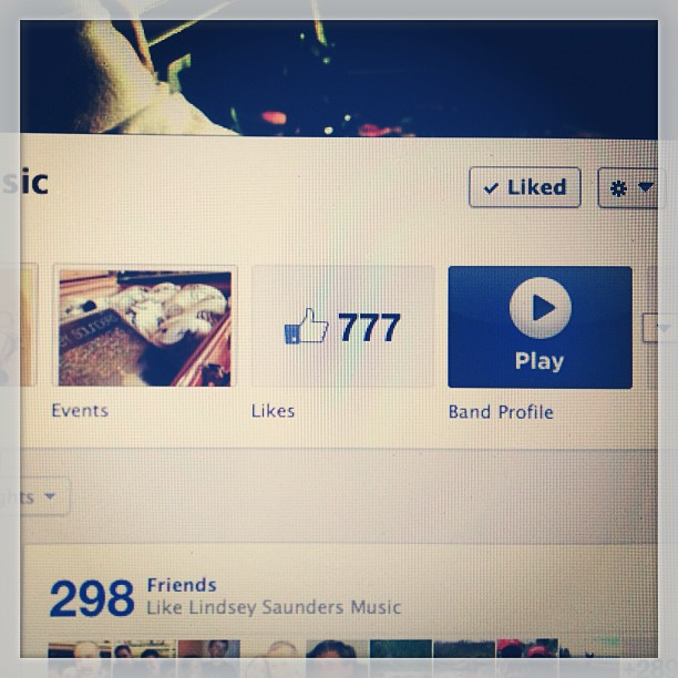 777 likes on my page!! Thanks y'all!