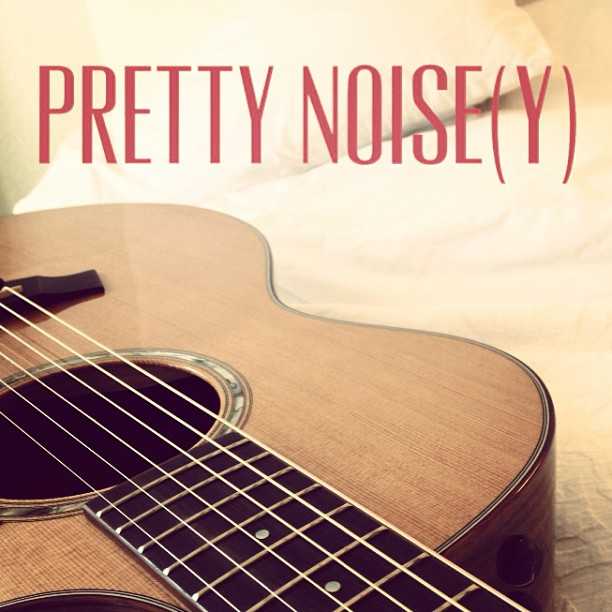 Humans make noise. And sometimes it's pretty. Then we call it music. #prettynoisey