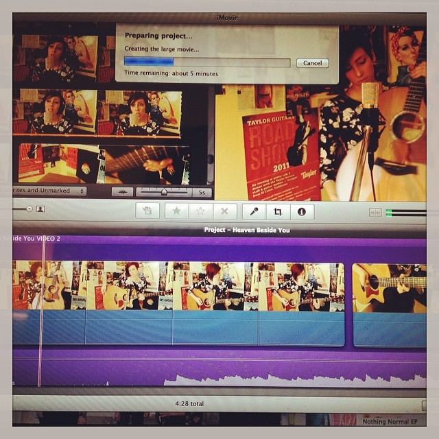 Another video coming your way soon! Lindsey + Alice in Chains = TBD …
